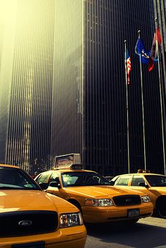 New York City Taxi by David Christoffersson