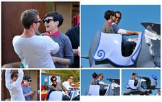 Josh Dallas and Ginnifer Goodwin (OUAT - Prince Charming/Snow White) @ Disney awwwwwww