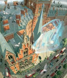 Jim Kay is working his magic once again, this time in the art for the fully illustrated edition of Harry Potter and the Chamber of Secrets. The British illustrator, whose work also graces Sorcerer's Stone, has depicted various scenes and characters from the second book in the popular series about the boy wizard.