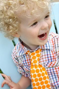The coolest little neckties for boys!