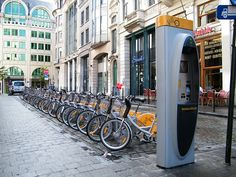File:Villo! bike rental in Brussels.jpg