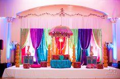 Bollywood Inspired Wedding Decor