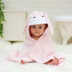 Personalised Bonny Bunny Baby Towel Gift Set by Bathing Bunnies, the perfect gift for Explore more unique gifts in our curated marketplace. Baby Gift Sets, New Baby Gifts, Baby Shower Presents, Baby Shower Gifts, Toddler Towels, Bunny Face, Baby Towel, Personalized Baby Gifts, Baby Bibs