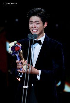"""161231 ♡ 2016 kbs drama awards falling in bogum // do not edit or remove watermark."""
