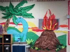 Dinosaur bulletin board                                                       …