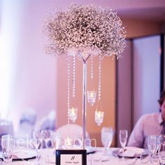 Like this idea but not with baby's breath