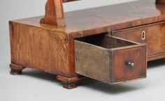 Antiques Atlas - 18th Century Walnut Dressing Table / Toilet Mirror