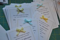 {Frugal} Baby Shower Invitations