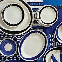 Wonki Ware at Serena and Lily! Durban Plates + Platters #serenaandlily