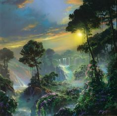 Return to Eden by Dale TerBush - Limited Edition Giclee Print