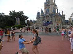 Get engaged at Disney. DONE!