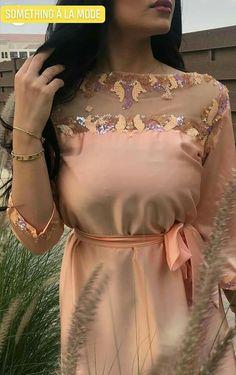 Abaya Fashion, Fashion Dresses, Stylish Dresses, Formal Dresses, Moroccan Dress, Designer Dresses, Peplum Dress, Women, Style