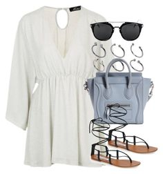 """Style #10672"" by vany-alvarado ❤ liked on Polyvore featuring Topshop, ASOS and Steve Madden"