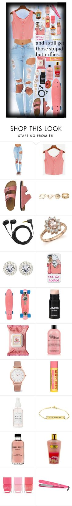 """""""And I still get those stupid butterflies.🌺"""" by the-after-party ❤ liked on Polyvore featuring TravelSmith, Sennheiser, Bloomingdale's, River Island, Retrò, Burt's Bees, philosophy, Larsson & Jennings, Bobbi Brown Cosmetics and Victoria's Secret"""