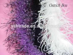 Girls party dresses marabou boa, feather boas for party