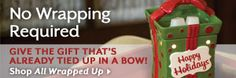 """Happy Holiday""!! DId you just sing that in your head like I did? lol get ""All Wrapped Up"" with this great Holiday warmer. Your guests will be begging to know how your house smells so good! :) http://www.wicklessjar.scentsy.us"