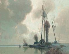 Alexandre Louis Jacob - Eclaircie aprés la Pluie  https://www.gladwellpatterson.com/wp-content/uploads/2014/12/18635.jpg
