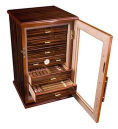 Armoire à cigares Adorini Chianti 2 Deluxe - 367,00€ http://www.smoking.fr/adorini-armoire-cigares-adorini-chianti-deluxe-p-5969.html