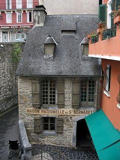 House of St. Bernadette - Lourdes, France