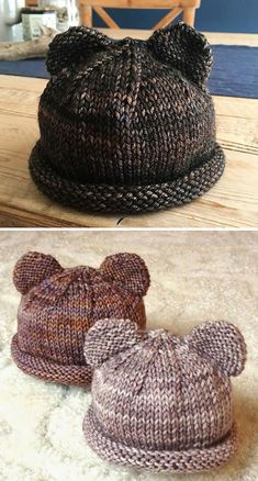 Bitty Bear Cubs - free pattern Itty Bitty Bear Cubs - free pattern, Knitting , lace processing is the most beautiful h. Itty Bitty Bear Cubs - free pattern Itty Bitty Bear Cubs - free pattern, Knitting , lace processing is the most beautiful h. Baby Knitting Patterns, Knitting Blogs, Baby Hats Knitting, Knitting For Kids, Knitting For Beginners, Loom Knitting, Free Knitting, Knitting Projects, Knitted Hats