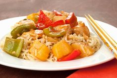 Pineapple Chicken and Peppers: An easy take on sweet and sour chicken ...