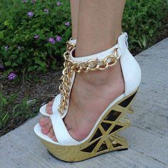 #gold #wedges