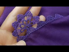 Needle Lace, Hand Embroidery Patterns, Crochet Videos, Tassels, Crochet Necklace, Brooch, Floral, Jewelry, Youtube