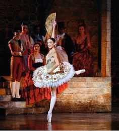 Dorothée Gilbert in Don Quixote, photo © Icare