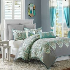 Madison Park Tara Comforter Collection