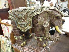 Decorative Elephant.  Photo by Frederick Meekins