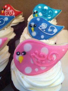 Birdie cookies on Etsy, $15.00