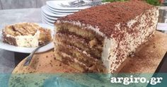 Κέικ τιραμισού με κρέμα χωρίς αυγά από την Αργυρώ Μπαρμπαρίγου | Δοκιμάστε αυτή τη θεϊκή συνταγή, μια παραλλαγή του αγαπημένου μας κλασικού γλυκού!