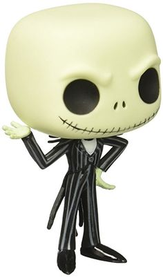 Funko POP Disney: Jack Skellington Vinyl Figure: Jack Skellington looks frighteningly cute and quite dapper as this fun POP! figurine developed by Funko. Collect all POP! Disney figurines for an assortment sure to pop out with delight on your shelf. Jack Skellington, Funko Pop Figures, Pop Vinyl Figures, Funko Pop List, Biscuit, Pop Disney, Pop Goes The Weasel, All Pop, Funko Pop Exclusives