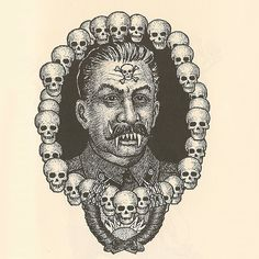 Russian Criminal Tattoos, This tattoo is known as 'The Great Cannibal - the...