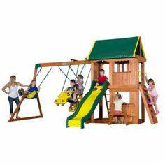 Backyard Discovery Hudson | Totally Swing Sets