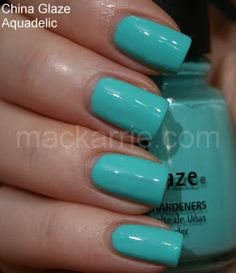 MacKarrie Beauty - Style Blog: China Glaze Electro Pop Swatches