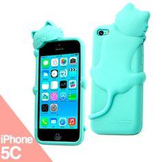 Funda iPhone 5C - Kitty - La Tienda de Doctor Manzana