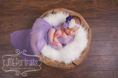 Purple Cluster Baby Headbands, Newborn Headband, Newborn Headbands, Infant Headbands, Headbands Babies, Headbands for Baby, Baby Headbands. Purple Cluster Baby Headbands Newborn Headband by BabyliciousDivas, $7.25