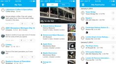 Foursquare - great travel app for getting recommendations from locals