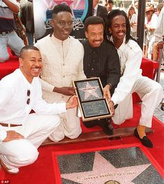 Maurice White, the founder and leader of Earth, Wind & Fire, has died. Hollywood Boulevard, Hollywood Walk Of Fame, 21st Night Of September, Boogie Wonderland, Earth Wind & Fire, Maurice White, Quiet Storm, Soul Singers, Celebrity Deaths