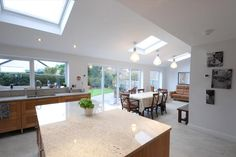 Single Storey Rear Family Room Extension - Building Regulations Approval in Flintshire