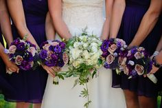 Elegant Purple Summer Wedding in Massachusetts. Published on Modernly Wed. Images by Nicole Chan Photography (www.nicolechanphotography.com).