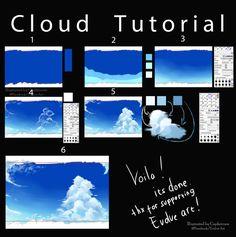 Как мне сделать облако ^^ по Closz
