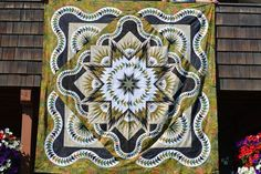 Glacier Star, Quiltworx.com, Made by Jeanette McClurkin.