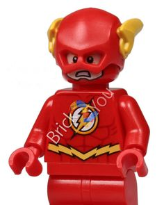 LEGO Flash Minifigure from Riddler's Chase 76012 by Brick2you