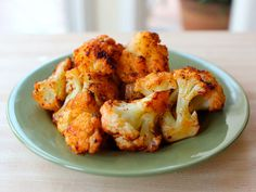Smoky Roasted Cauliflower Recipe Side Dishes with cauliflower, extra-virgin olive oil, smoked paprika, salt