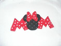 MOM  Minnie Disney Shirt-Great for your Disney Vacation or Cruise on Etsy, $18.00