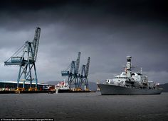 HMS Argyll returning to Glasgow in March for the  first time in five years, taken by CPO T...