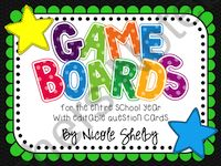 $ Game Boards for the Classroom