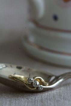 アンティークオールドヨーロピアンカットダイヤモンド シングルカットダイヤモンド アンティークジュエリー イギリス